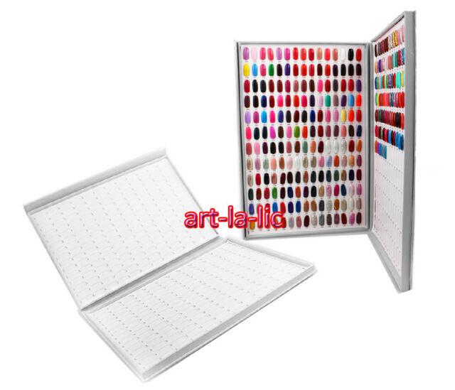 308 Colors Nail Gel Polish Display Book Chart Luxury Nail Art Salon Super Large