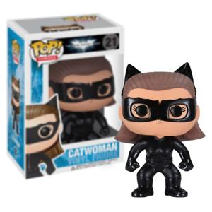 NUOVO Il Cavaliere Oscuro Sorge Catwoman Pop Figura in vinile #21 Funko ufficiale