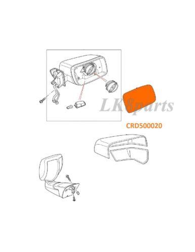 LAND ROVER LR3 LR2 RANGE SPORT EXTERIOR MIRROR FLAT GLASS RIGHT RH CRD500020 NEW