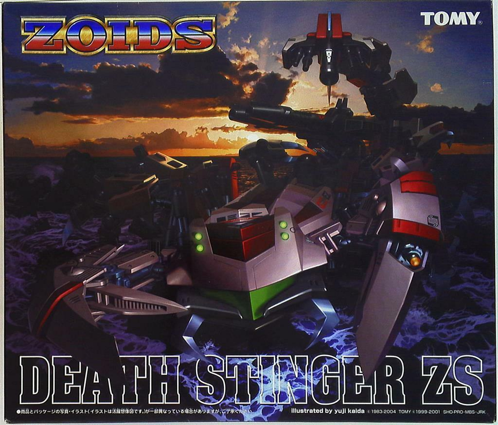 Zoids Yuji Kaida Illustrated Ltd Death Stinger ZS  Zarka Special  - Mint in Box