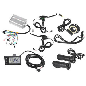 36 48V 500W Ebike Electric Bicycle Brushless DC Motor Speed Controller Dual Mode