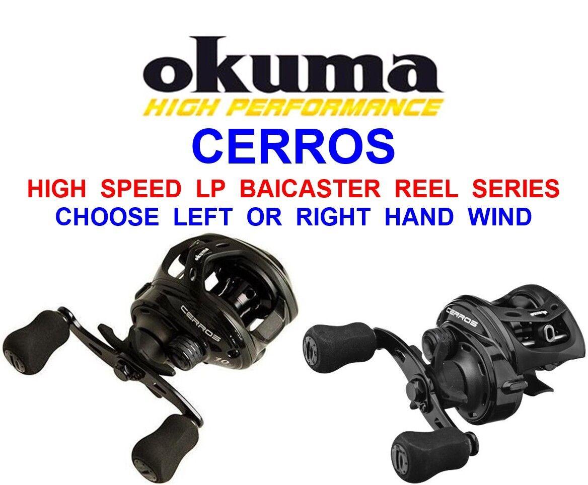OKUMA HIGH SPEED 7.3 1 CERROS BAITCASTER REEL SEA COARSE PIKE BASS ROD SPINNING