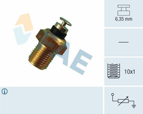 Thermistance FAE 32110 pour PASSAT, SCIROCCO, 80, 100, 90, VENTO, PASSAT VARIANT