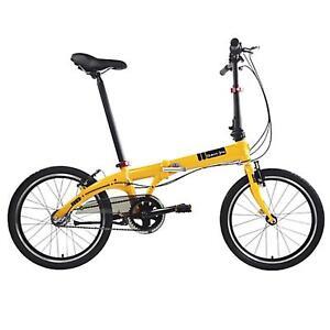 Dahon-VYBE-i3-3-Gang-ND-Faltrad-Orange-20-Zoll-Leicht-Klapp-Fahrrad-Beleuchtung