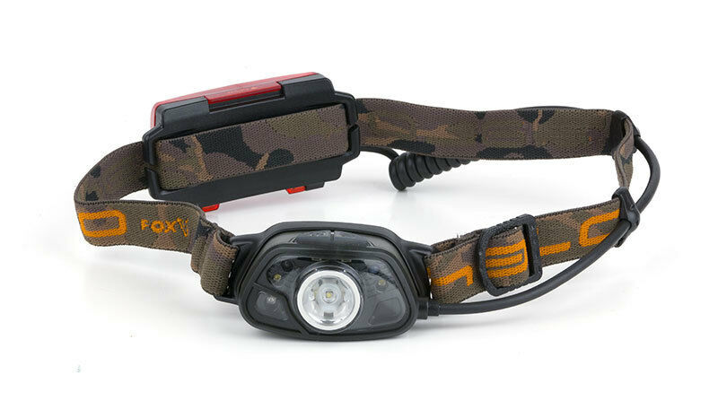 Fox Halo MS250 MS250 MS250 Proiettore Torcia Frontale Attrezzatura Pesca Alla Carpa 4d2260