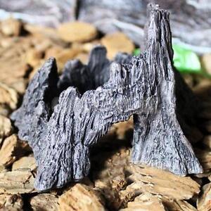 Reptile-Snake-Turtle-Vivarium-Rock-Caves-Decor-Aquarium-Ornament-Mountain