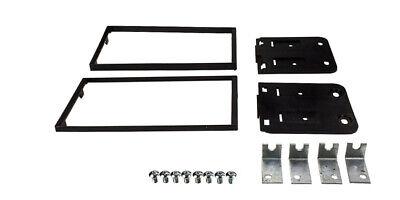 Auto Radio Blende Einbau Rahmen 1-DIN schwarz für KIA Sorento  BL JC Facelift