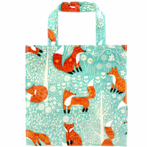 Ulster Weavers SMALL Reusable PVC Shopping Bags RHS Madeleine Floyd Cat Dogs Fox