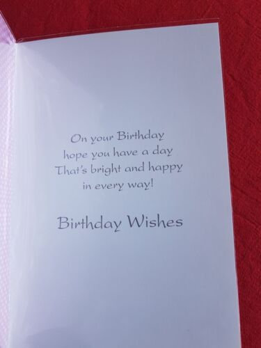 Wife Birthday Cards Standard Size