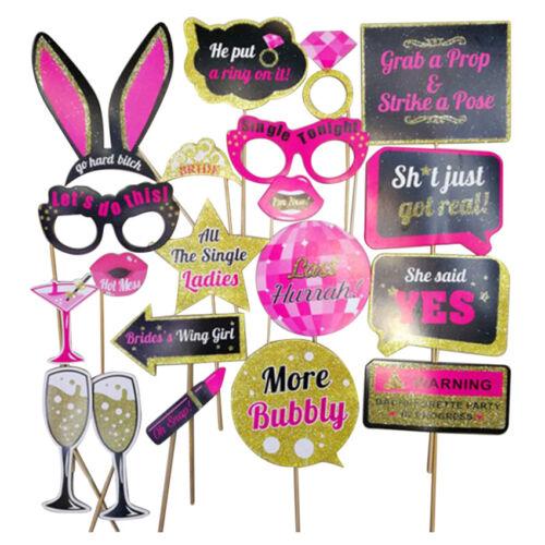 Cute Team Bride Hen Night Out Bachelorette Party Decoration Accessories Set