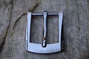 Repuesto-Hebilla-De-Cinturon-para-30mm-Tira-Solid-Metal-negro-plata-Al-Por-Mayor