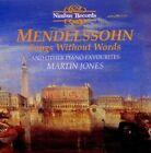 Mendelssohn Songs Without Words - Martin Jones & CD