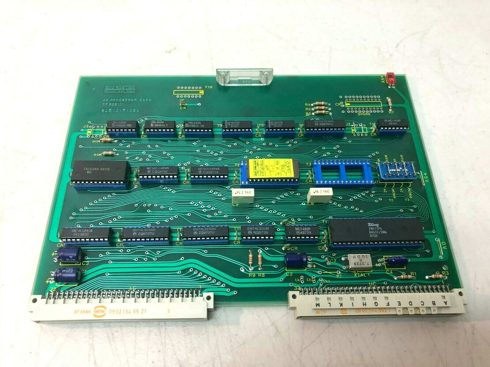 Solid state logic processor card Z8 processor CF 82E131 - 82E131F1083