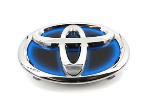 Image Is Loading Genuine New Toyota Grille Badge Front Blue Embem