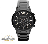 Original EMPORIO ARMANI AR2453 Renato Herren Uhr Chronograph Edelstahl *NEU&OVP*