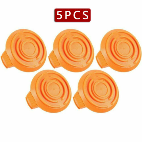 Replacement Trimmer Spool Line For Worx WA6531 5 Pack Spool Cap 50006531 WG151