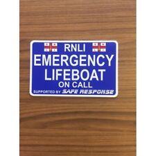 Emergency LIFEBOAT - BLUE - on Call Dash Card car windscreen