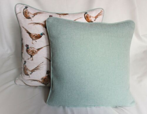 luxury quality feather filled Gift herring bone Pheasant filled cushion