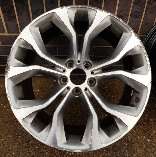 """Bmw X6 Rims For Sale: Genuine BMW X5 X6 20"""" Inch Twin Spoke Single Alloy Wheel X"""