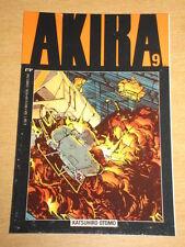 AKIRA VOL 1 #9 EPIC COMICS KATSUHIRO OTOMO MANGA GRAPHIC NOVEL<