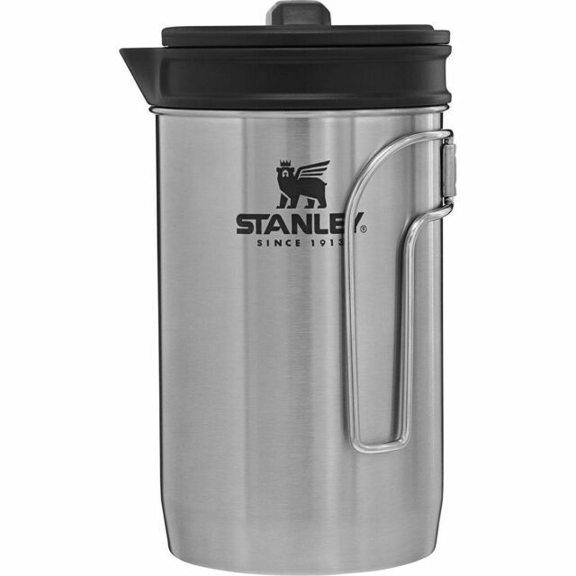 Stanley Adventure All-in-one Boil Brew French Press Silver 32oz for sale online
