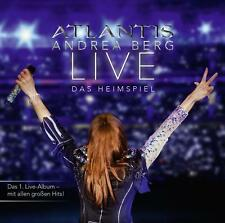 Atlantis-LIVE Das Heimspiel 2 CD u.1 DVD von Andrea Berg (2014)