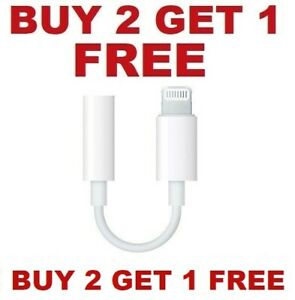 For Apple iPhone Headphone Adapter Jack 3.5mm Aux Cord Dongle