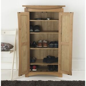 Delicieux Image Is Loading Crescent Solid Oak Hallway Furniture Shoe Accessories Hall