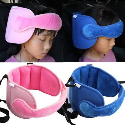 Car Seat Baby Head Support Harness StrollerSeat Fastening Belt Safety Strap