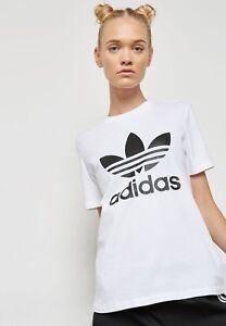 MED adidas Originals Women s RegFit CLASSIC TREFOIL TEE UK14-US 10 ... 026a9539f0
