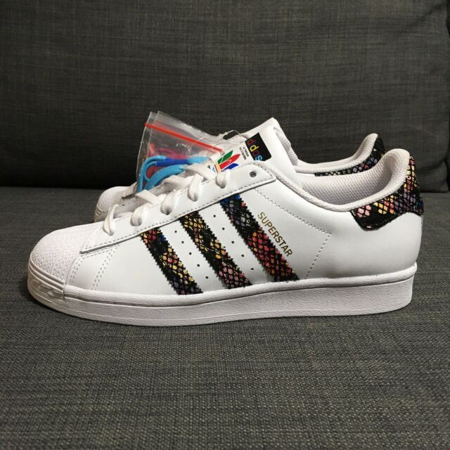 Size 7 - adidas Superstar Floral Twist Stripes 2020 for sale ...