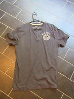 Men's Short Sleeve Large Henley Shirt L new York
