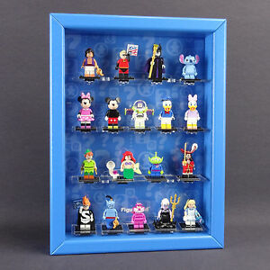 Caja Para Figuras Vitrina De Colección Lego Serie 71012 Minifiguras