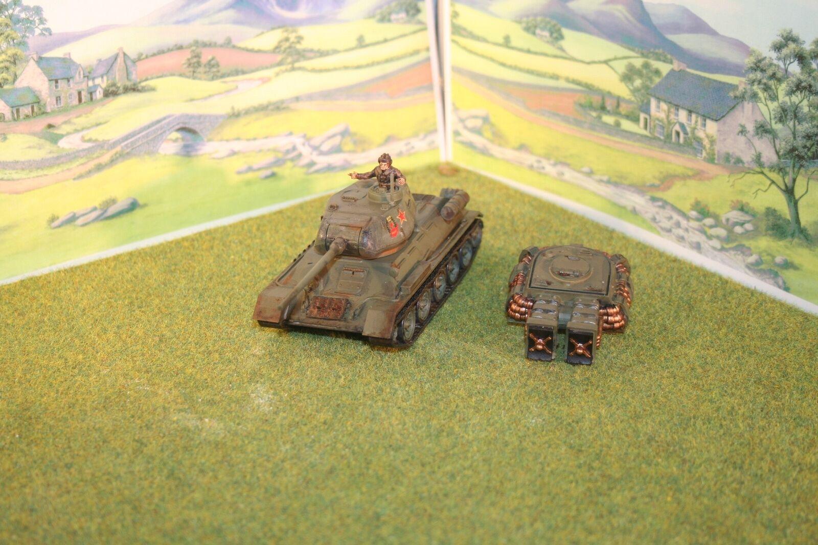 Warlord Games Konflikt 47 -T34  ZP Medium Tank Painted