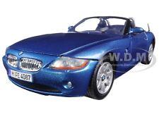 BMW Z4 BLUE 1:24 DIECAST MODEL CAR BY MOTORMAX 73269
