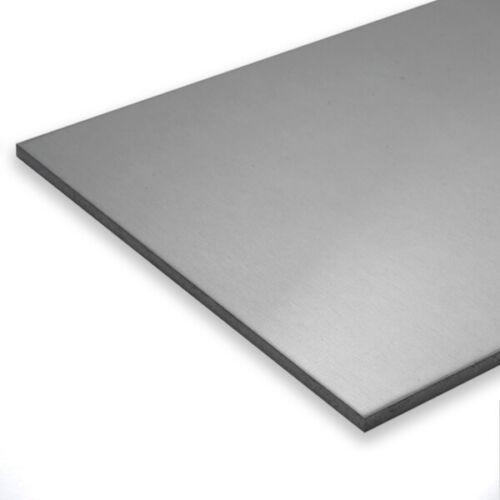 Edelstahl Blech 2,0mm 1.4301 Edelstahlblech Edelstahlplatte Platte V2A