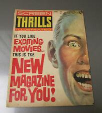 1962 SCREEN THRILLS Illustrated v.1 #1 VG- 3.5 Tarzan Three Stooges Superman
