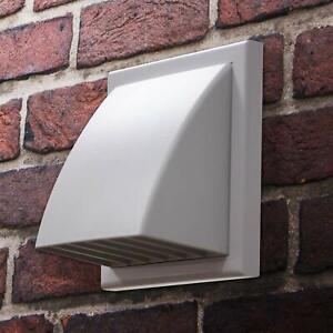 Outside Wall Vent Hose Hooded Cover Kit For Tumble Dryer 125 150 Mm Universal Ebay