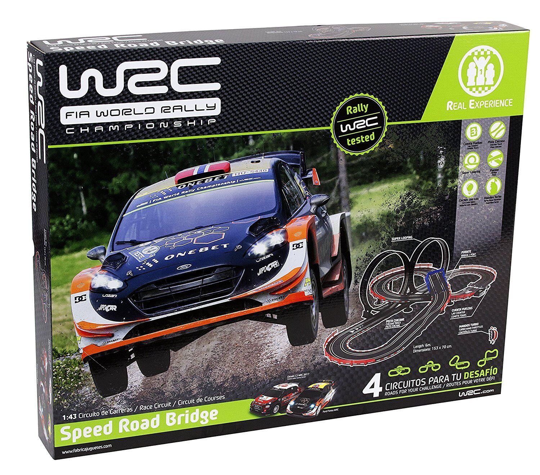 Herstellung von Spielzeuge 91002. Schaltung Skala 1/43 WRC speed road bridge