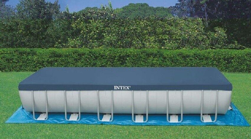 prodotti creativi INTEX INTEX INTEX 18936  Telo di copertura per Piscina Ultra Frame rettangolare 732 x 366  più sconto