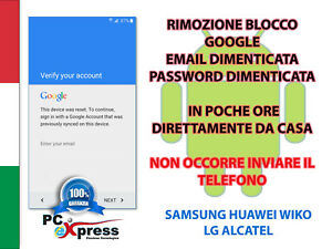 Details about SBLOCCO ACCOUNT GOOGLE FRP WIKO SUNNY 2 ROBBY LENNY PULP  JERRY U FEEL RAIMBOW