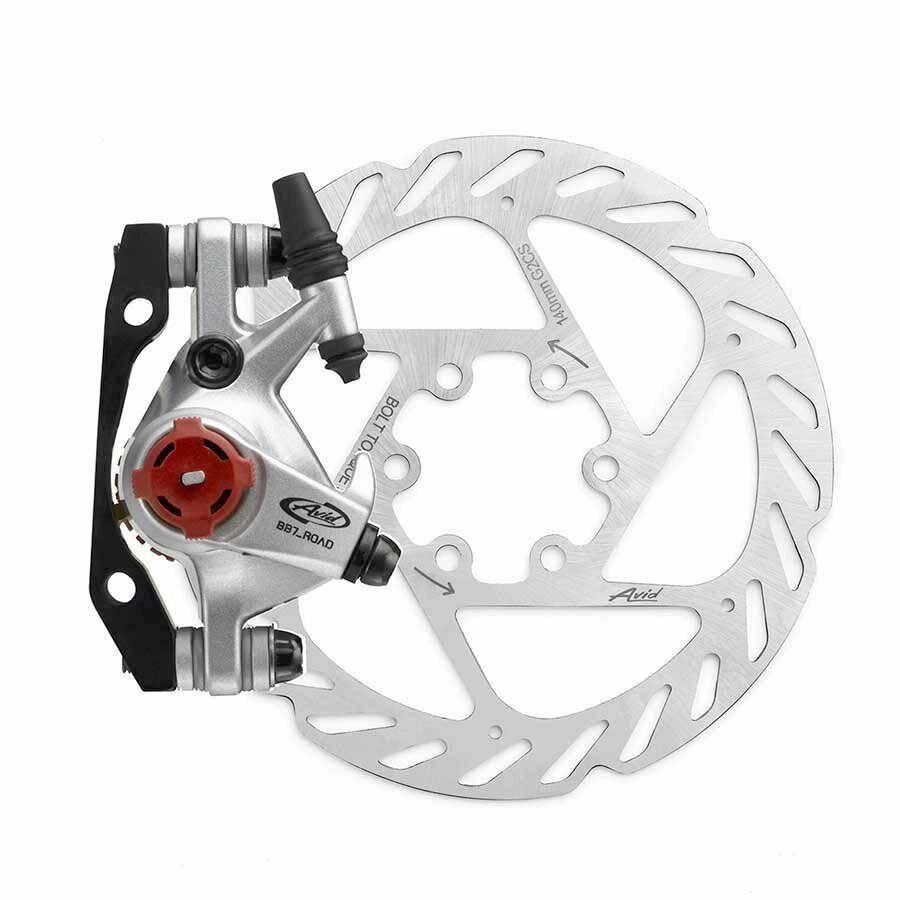 Avid BB7 Road Mechanical disc brake - Rear, 140mm - grau
