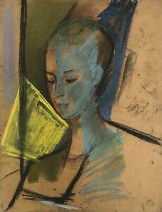 Alexander-Rutsch-Drawing-Original-Pastel-Portrait-4-1952