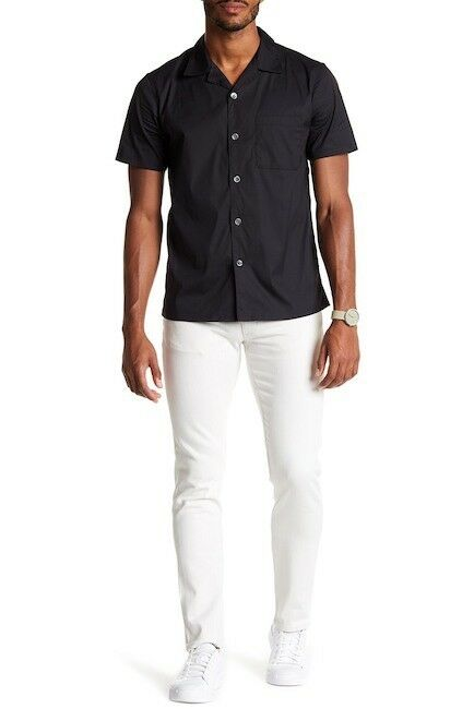 Theory Men's Raffi Je Z White Jeans