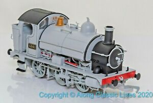 Kernow-K2201A-OO-Gauge-GWR-class-13xx-0-6-0SD-Saddle-Tank-Loco-1361-GWR-grey