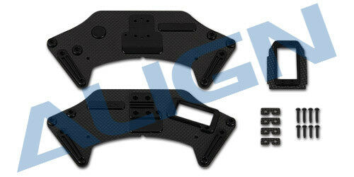 Align G800 Gimbal Yaw Mount Carbon Plate Set  H80B017XXT