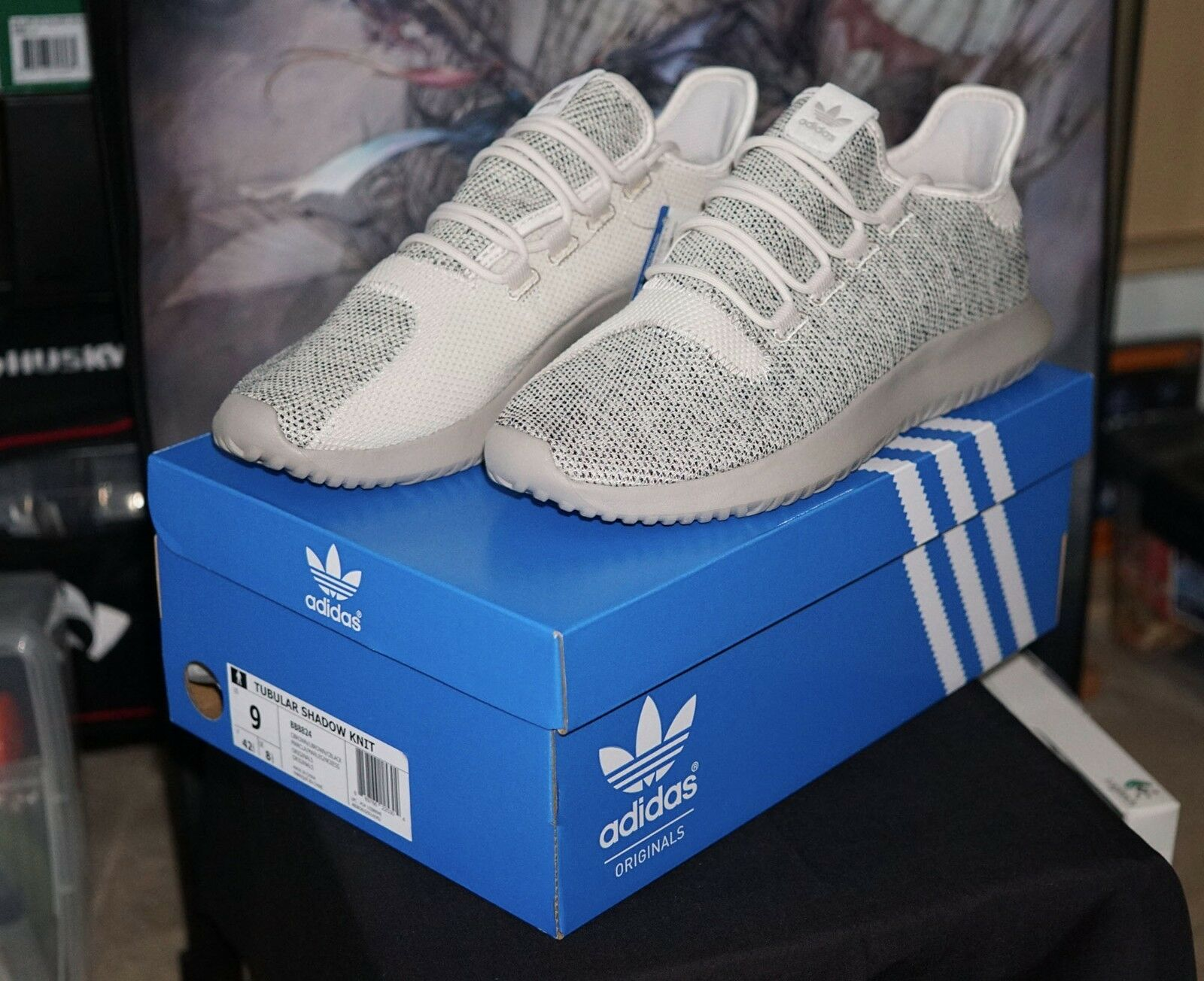 NEW - adidas Originals Tubular Shadow Knit Clear Brown (Men's Size 9 shoes)