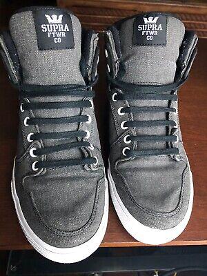 supra grey high tops