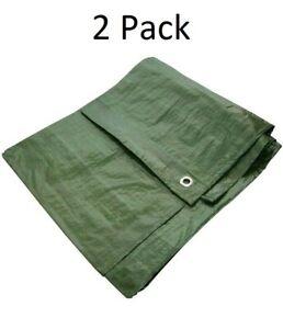 2-pack-of-Tarp-Tex-Tarpaulins-3-6m-x-5-4m-each-Green