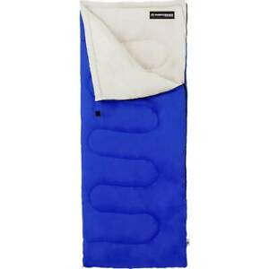 Wakeman - Adult 300G Sleeping Bag - Blue
